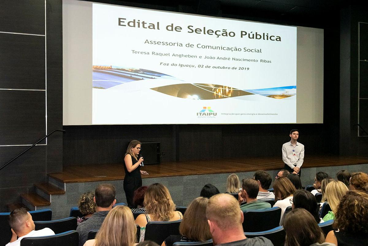 Evento de capacitação realizado em 2019. Foto: Rubens Fraulini/Itaipu Binacional